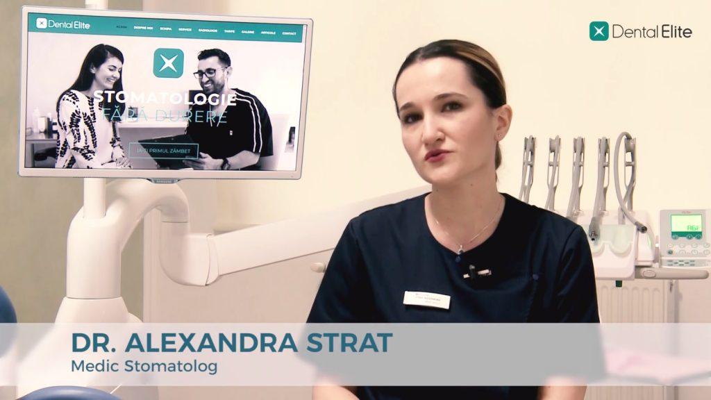 Dr. Alexandra Strat - tratament endodontic